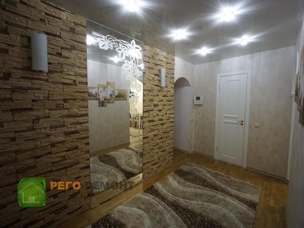 Отделка квартиры в Рязани Цена 280 000 р - YouTube